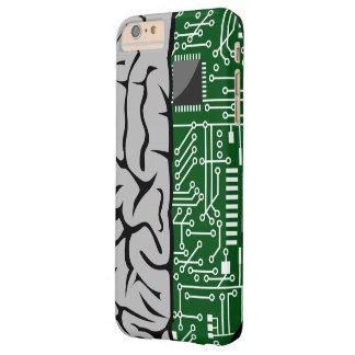 二進考えるでハイテクな人間の脳 BARELY THERE iPhone 6 PLUS ケース