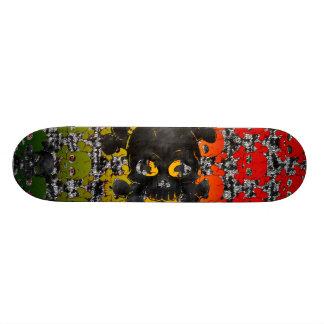 二進 19.7CM スケートボードデッキ