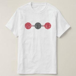 二酸化炭素の分子構造 Tシャツ