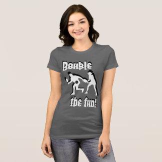 二重おもしろい! Tシャツ