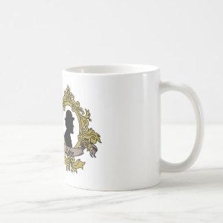 二重カメオのマグ コーヒーマグカップ