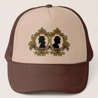 二重カメオの帽子 キャップ