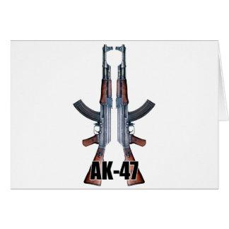 二重カラシニコフ自動小銃の突撃銃 カード