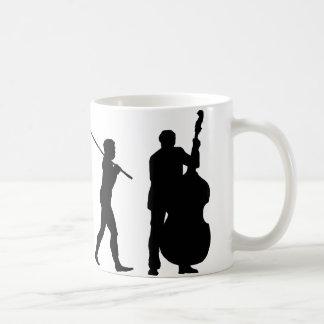 二重コントラバス奏者 コーヒーマグカップ