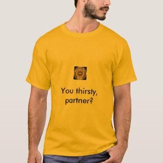 二重タップのルートビア Tシャツ
