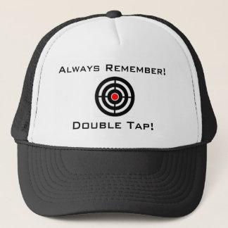 二重タップの帽子 キャップ