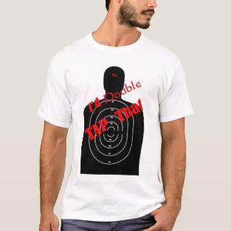 二重タップ Tシャツ