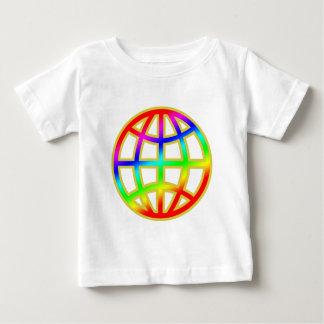 二重デザイン ベビーTシャツ