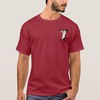 二重フルートClrを持つ若いファウヌス Tシャツ