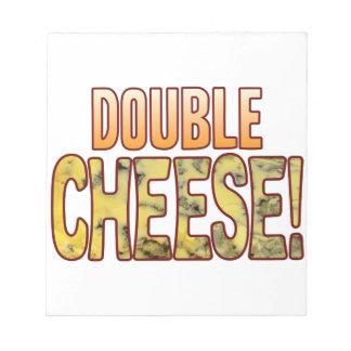 二重ブルーチーズ ノートパッド