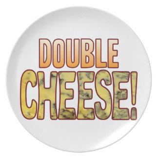 二重ブルーチーズ プレート