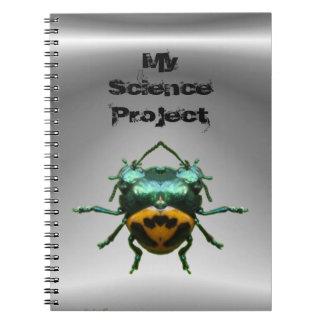 二重ヘッダーのカブトムシの~のノート ノートブック