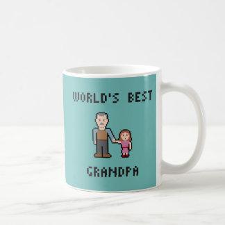 二重側面の孫の最も最高のな祖父のマグ コーヒーマグカップ