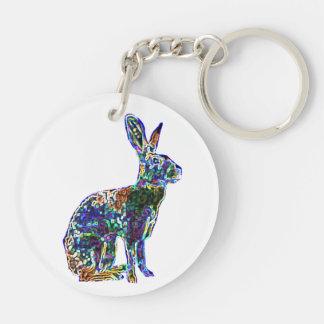 二重幸運なノウサギ|の風水のkeychain キーホルダー