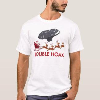 二重悪ふざけ Tシャツ