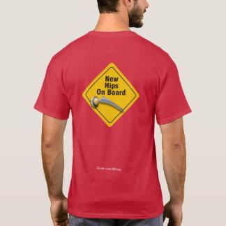 """二重情報通の取り替えのTシャツ""""の上の""""新しいお尻 Tシャツ"""