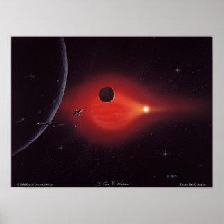 二重星文明 ポスター