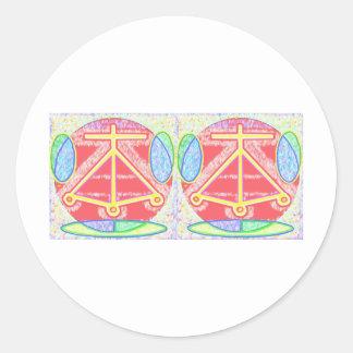二重炉: Karunaの霊気 ラウンドシール