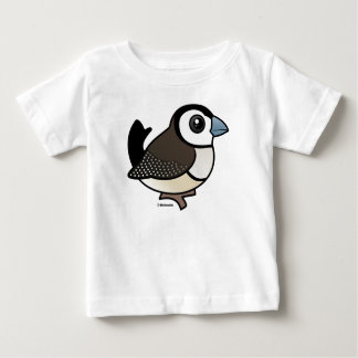 二重禁止されたフィンチ ベビーTシャツ