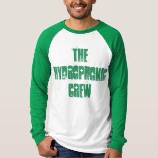 二重色の野球のワイシャツ Tシャツ