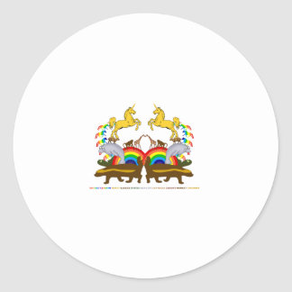 二重虹のラーテルのカメのマナティー… ラウンドシール