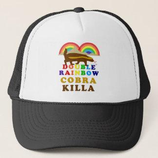 二重虹のラーテルのコブラKilla キャップ
