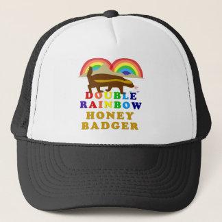 二重虹のラーテル キャップ
