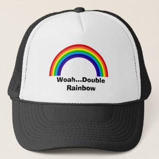 二重虹の帽子 キャップ