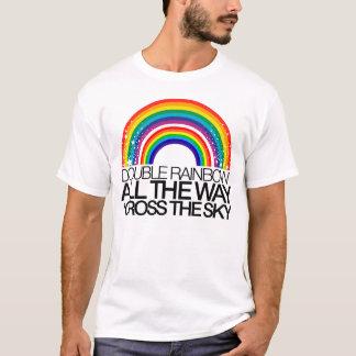 二重虹のTシャツ Tシャツ