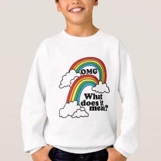 二重虹 スウェットシャツ