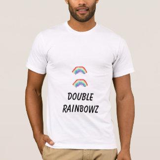 二重虹、二重RAINBOWZ Tシャツ