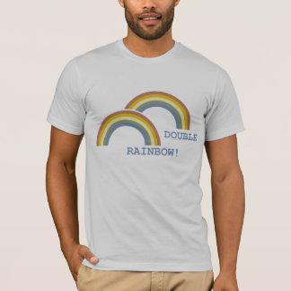 二重虹! Tシャツ