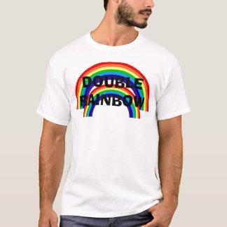 二重虹 Tシャツ