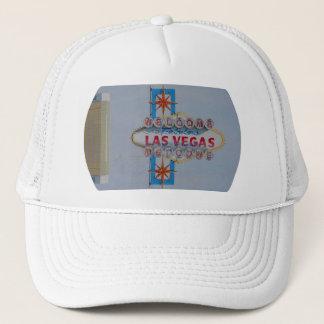 二重視野のラスベガスのロゴの帽子 キャップ