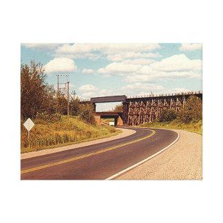 二重鉄道橋 キャンバスプリント