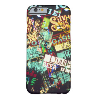 二重露光、カジノのシンボルや象徴、ラスベガス、 BARELY THERE iPhone 6 ケース