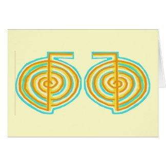 二重CHOKUREI = Karunaの霊気KRIYA カード