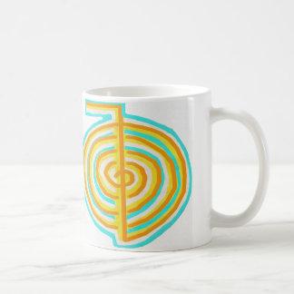 二重CHOKUREI = Karunaの霊気KRIYA コーヒーマグカップ