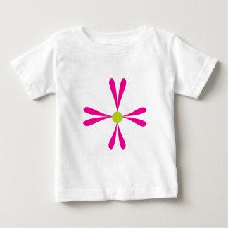 二重Flower.png ベビーTシャツ