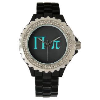 二重Piの記号の腕時計 腕時計