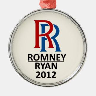 二重R: Romney/ライアン2012年 メタルオーナメント