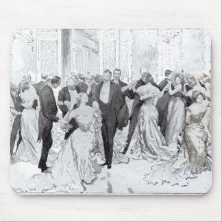 「二階に日常生活」からのCotillon、1902年 マウスパッド