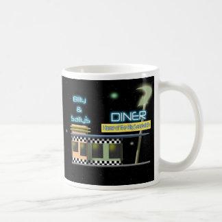 五十年代のスタイルのダイナー コーヒーマグカップ