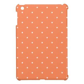 五十年代のスタイルの珊瑚の水玉模様 iPad MINIカバー