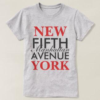 五番街ニューヨーク Tシャツ
