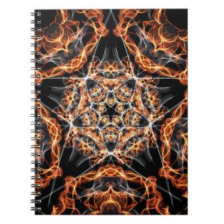 五芒星の火 ノートブック