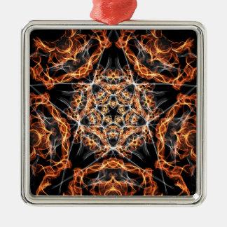 五芒星の火 メタルオーナメント