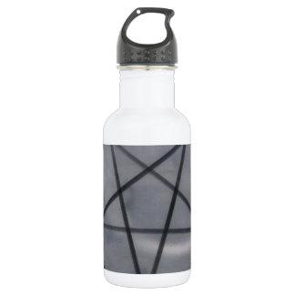 五芒星の黒 ウォーターボトル