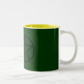 五芒星 ツートーンマグカップ