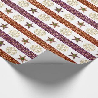 五芒星-包装紙 ラッピングペーパー